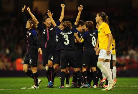 Seleção feminina perdeu para o Japão no mata-mata da Olimpíada