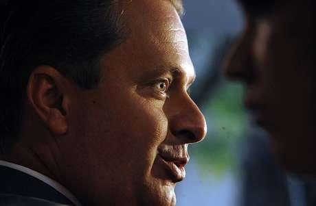 <p>Eduardo Campos morreu em acidente a&eacute;reo na semana passada</p>