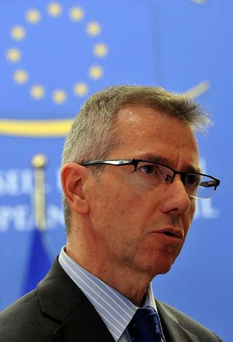 <p>Bernardino Leónfoi conselheiro de Política Externa de José Luis Rodríguez Zapatero e enviado especial da União Europeia para a Líbia</p>