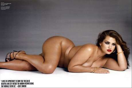 <p>A plus size americana Tara Lynn éagenciada pela Ford</p>