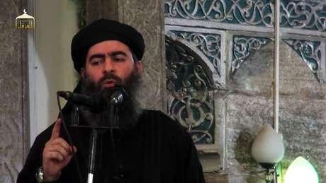 <p>Abu Bakr al-Baghdadi</p>