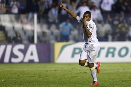 """<p>Melhor jogador da primeira """"Era Dunga"""" como técnico, Robinho pode voltar à Seleção</p>"""