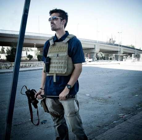<p>Foley foi sequestrado em novembro de 2012 por jihadistas do movimento islâmico EI</p>