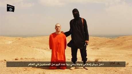 <p>James Foley desapareceu na Síria em 2012</p>