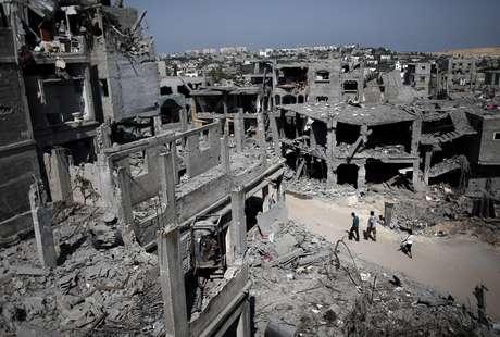 Os confrontos em Gaza já deixaram 2.090 palestinos mortos