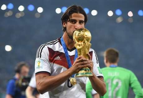 Sami Khedira foi campeão mundial com a Alemanha no ano passado