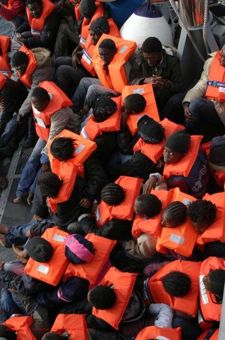<p>A It&aacute;lia &eacute; um dos principais destinos das embarca&ccedil;&otilde;es de imigrantes africanos</p>
