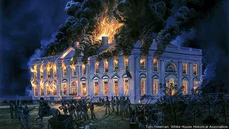 Bolivar, Padre Libertador. Bicentenario - Página 3 Casa-blanca-llamas624x351tomfreemanwhitehousehistoricalassociation