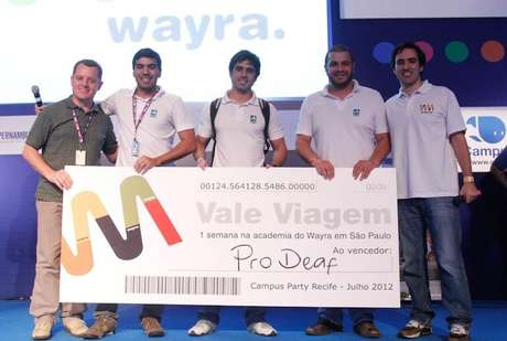 <p>O ProDeaf foi laureado pelo Wayra Contest, que premia ideias de negócios de jovens empreendedores, em 2012, e a Imagine Cup 2011, no qual foi vice-campeão</p>