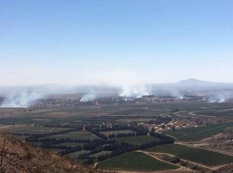 Colinas de Golã é área estratégica por ligar dois países e foi tomada por rebeldes nesta quarta-feira