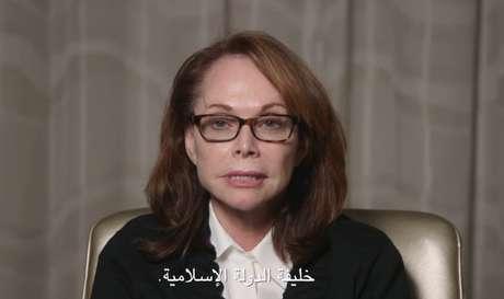 """<p>""""Peço que use sua autoridade para salvar a vida dele"""", declarou a mulher no vídeo divulgado pelo jornal<em>TheNew York Times</em></p>"""