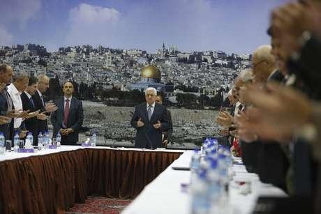 Presidente palestino anunciou nesta terça-feira que acordo de cessar-fogo foi estabelecido com Israel