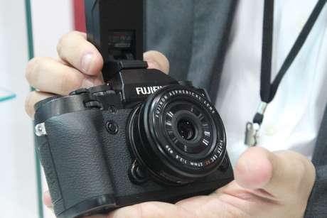 <p>Câmera Fuji XT1</p>