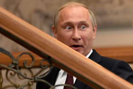 Putin disse que está disposto a colaborar com intenções de paz da Ucrânia