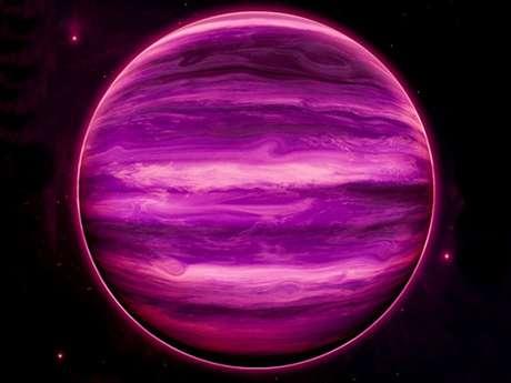 <p>Ilustração da estrelaWISE 0855-0714</p>