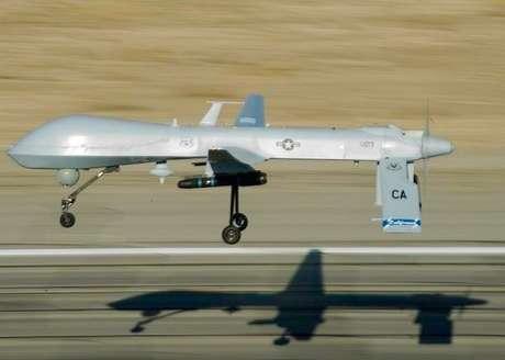 <p>Predator, um dos drones dos Estados Unidos</p>