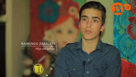 Él es Raimundo Zabaleta.