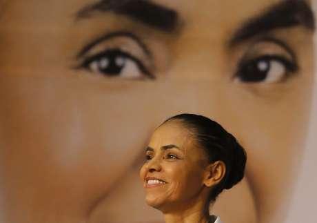 <p>A candidata Marina Silva (PSB) durante lan&ccedil;amento do seu plano de governo</p>