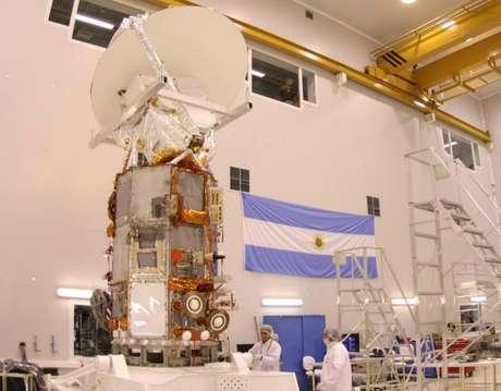 O satélite fabricado no país teve fabricação própria