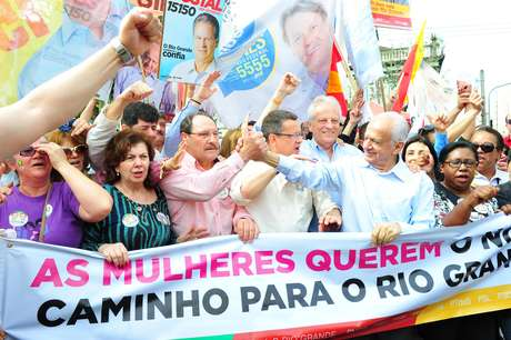 <p>Candidato do PMDB ao governo ga&uacute;cho apoia PSB na corrida presidencial</p>