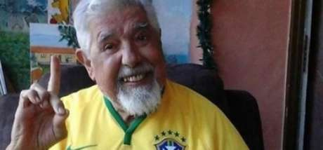Durante a Copa do Mundo, no Brasil, Rubén demonstrou sua torcida brasileira.