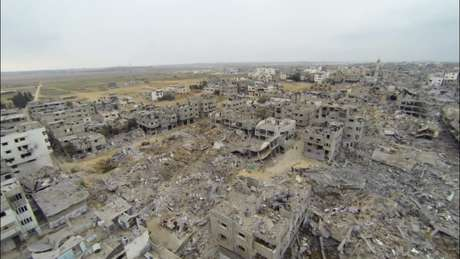 Entre os dias 8 de julho e 27 de agosto, mais de 2100 palestinos morreram na Faixa de Gaza