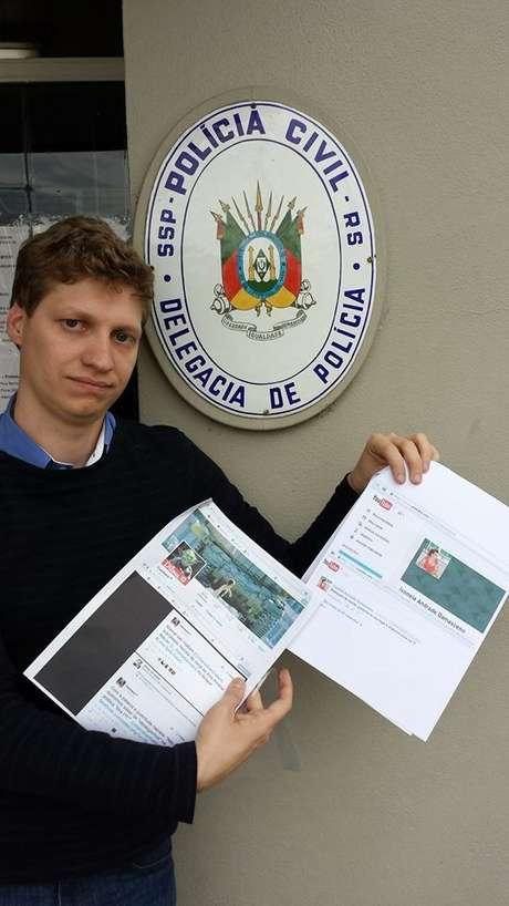 Marcel Van Hattem, do PP, registra ocorrência em Dois Irmãos após ser xingado no Facebook