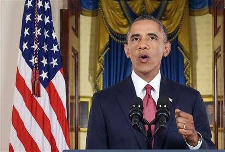 """<p><span style=""""font-size: 15.1999998092651px;"""">O presidente dos Estados Unidos, Barack Obama, anunciou nesta quarta-feira que seu governo realizará ataques seletivos contra posições do Estado Islâmico (EI)</span></p>"""