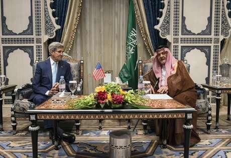 <p>Kerry e o ministro das Rela&ccedil;&otilde;es Exteriores da Ar&aacute;bia Saudita se encontram nesta quinta-feira</p>