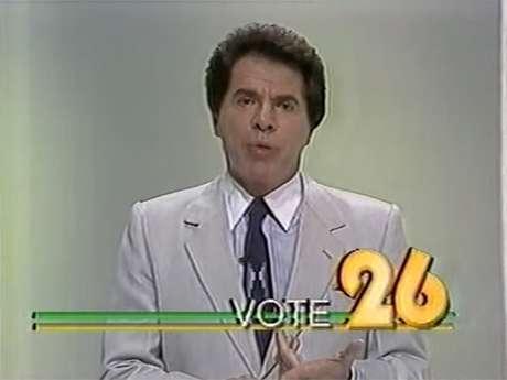 Silvio Santos se candidatou à Presidência em 1989