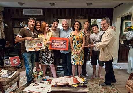 <p>Último episódio de 'A Grande Família' foi ao ar nesta quinta-feira (11)</p>