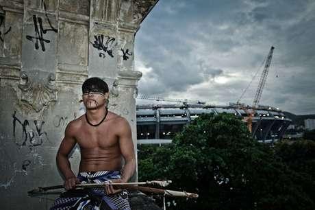 Aumentam assassinatos e suicídios entre indígenas no Brasil (foto de arquivo/indígena expulso região do Maracanã)