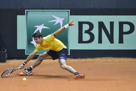 Rogerinho subiu 27 posições no ranking da ATP