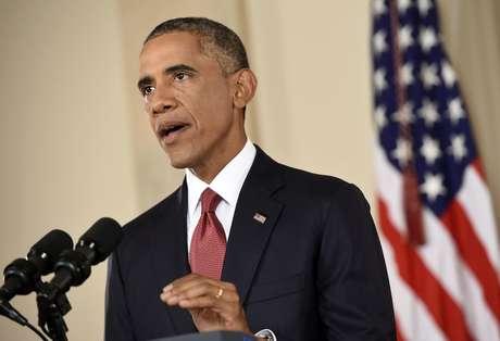 <p>Obama anunciou na quarta-feira que seu governo est&aacute; preparado para combater o EI onde quer que esteja</p>