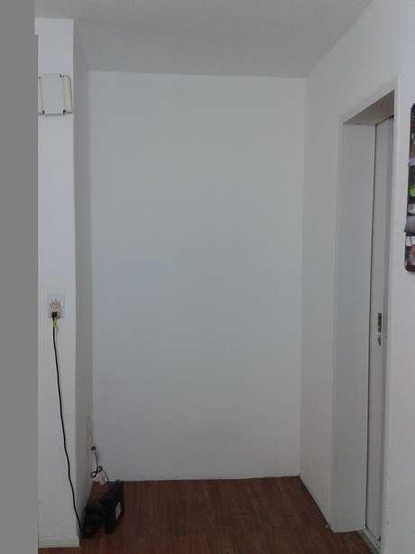 """<p>O """"canto"""" da Luciane pode ser transformado em um hall de menores proporções</p>"""