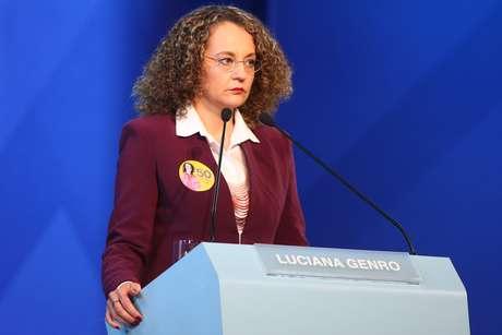Luciana Genro deu declarações fortes durante o programa