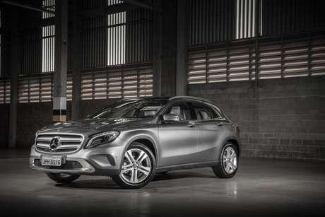 <p>Mercedes GLA 200 é o novo carro da marca lançado no Brasil</p>