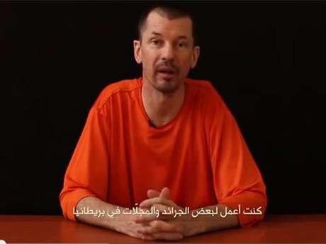 """<p><span style=""""font-size: 15.1999998092651px;"""">John Cantlie&nbsp;</span>foi sequestrado duas vezes na S&iacute;ria e, na primeira, estava acompanhado de James Foley</p>"""