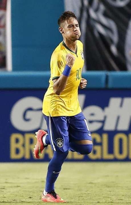 <p>Neymar é o principal ídolo de André</p>