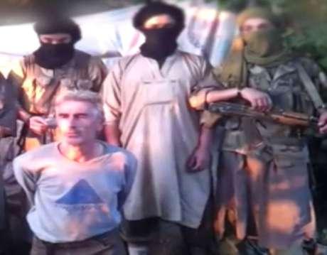 Gourdel foi decapitado pelo grupo Yund al-Jilafa em represália pela participação da França na campanha aérea americana