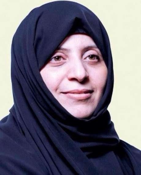 <p>Samira Saleh al-Naimi postoucomentários nas redes sociaisdenunciando a destruição de santuários pelo Estado Islâmico</p>