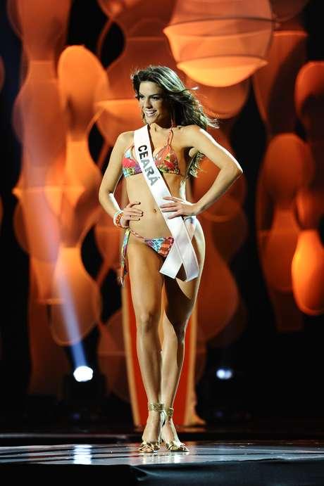 Miss Ceará em desfile de biquíní