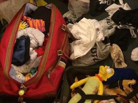 <p>Nathalya publicou fotos do seu quarto após o furto. O casal havia se hospedado em um hotel dentrodo complexo da Disney</p>
