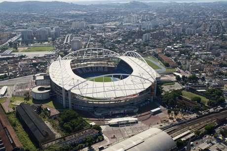 <p>Estádio Nilton Santos</p>