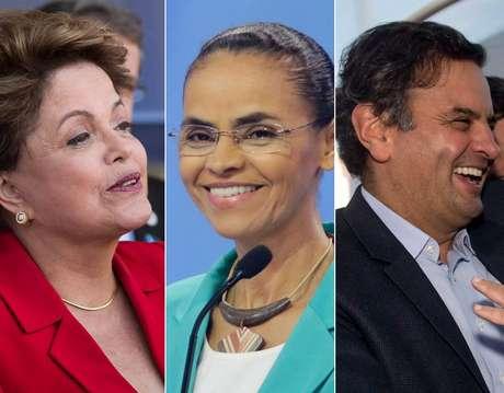 <p>Dilma Rousseff (PT),&nbsp;Marina&nbsp;Silva (PSB) e&nbsp;A&eacute;cio Neves (PSDB)&nbsp;fizeram&nbsp;24 viagens na&nbsp;regi&atilde;o nesta semana</p>