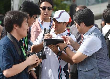 Felipe Massa fez o quarto melhor tempo