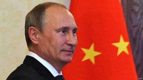 <p>O presidente da RússiaVladimir Putin foi um dos que parabenizaram Dilma</p>