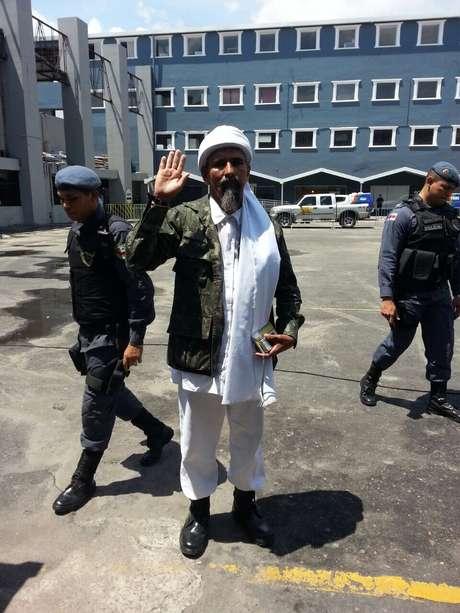 <p>Manuelde Assis, mais conhecido como Osama Bin Laden</p>