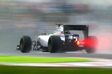 Felipe Massa terminou na sétima posição