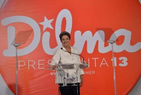 <p>Dilma Rousseff (PT), candidata à reeleição</p>